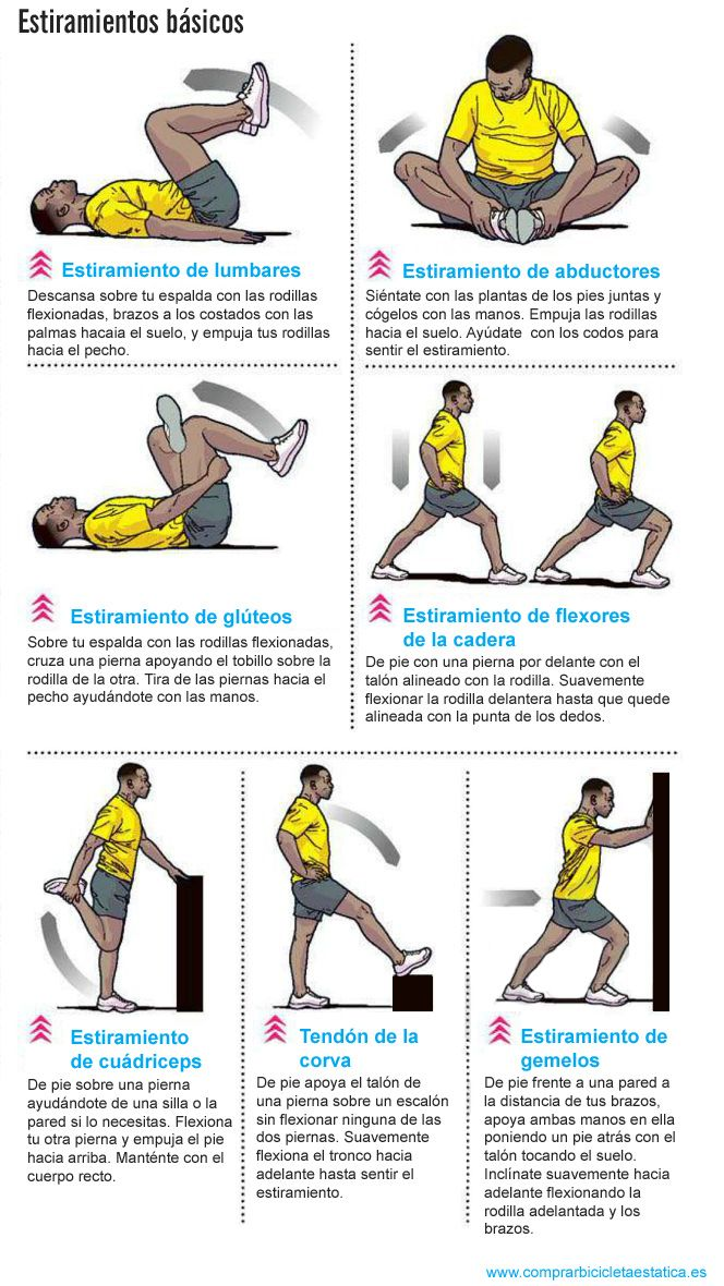 Estiramientos Básicos Salud Bienestar Ejerciciofisico Ejercicios Para Dolor De Espalda Rutinas De Ejercicio Ejercicios