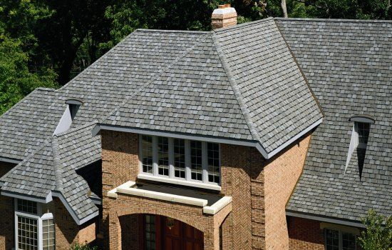 Roofing Photo Gallery Certainteed Design Center Grand Manor Stonegate Gray Roof Shingle Colors Dream House Exterior Shingle Colors