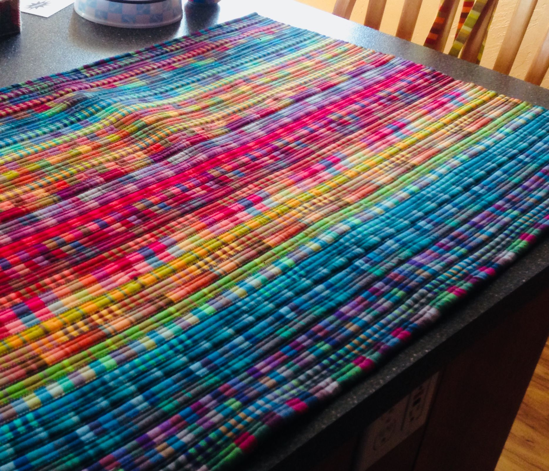 Jelly Roll Rug Sewing Rugs Sewing Projects Handmade Rugs
