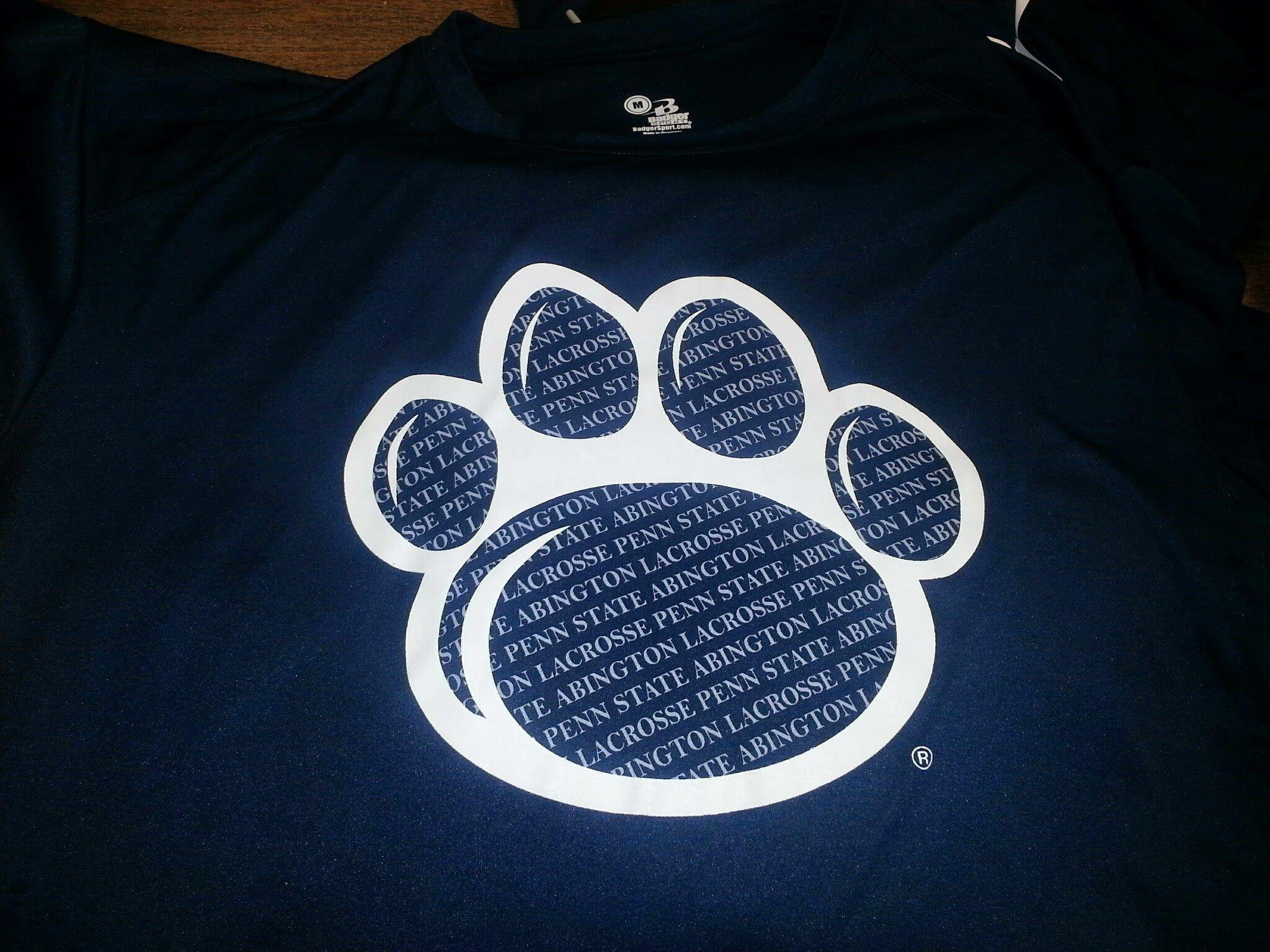 Penn State Abington paw print logo Penn state, Print