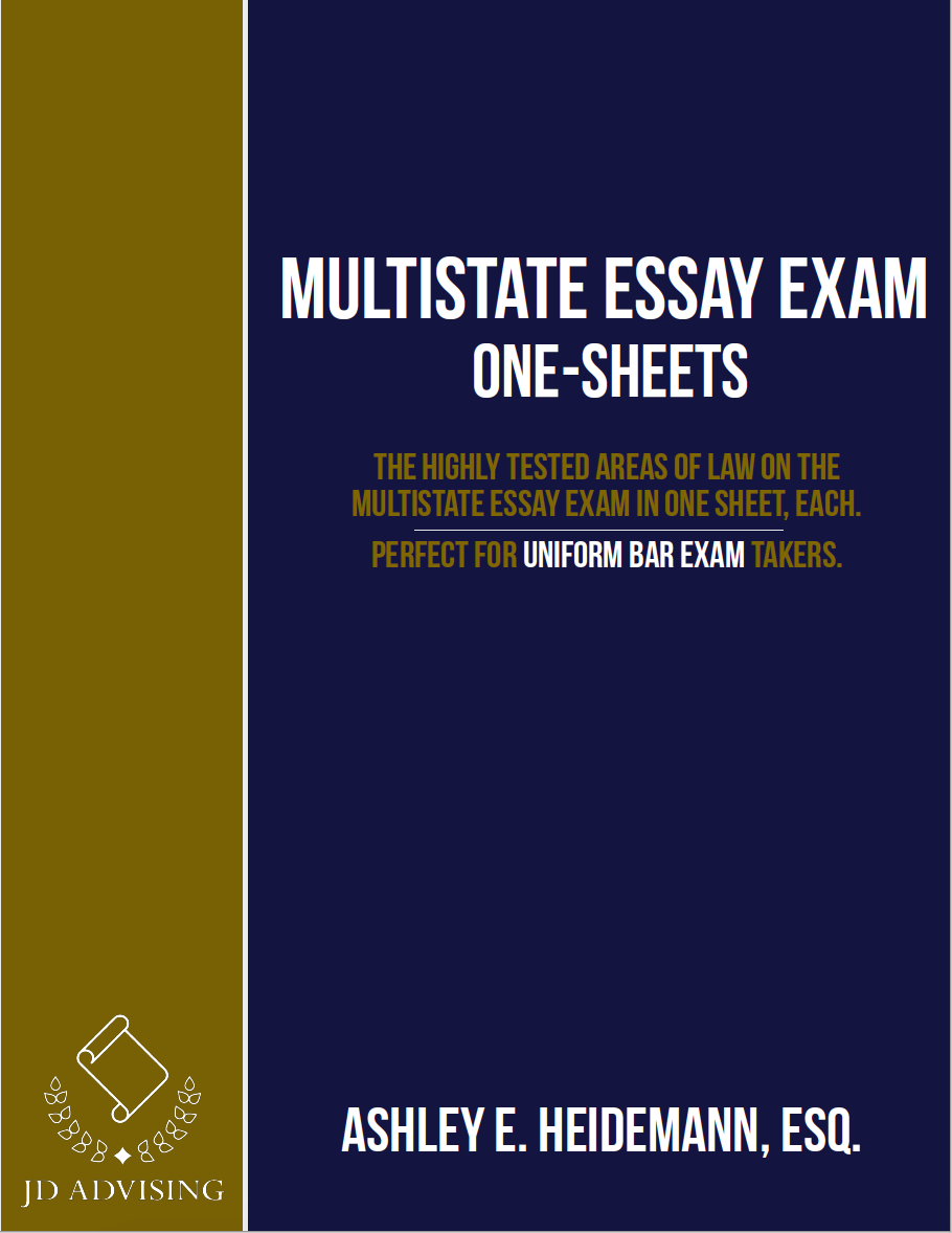 Mee One Sheets Multistate Essay Exam One Sheets Jd Advising Exam Exams Tips Bar Exam