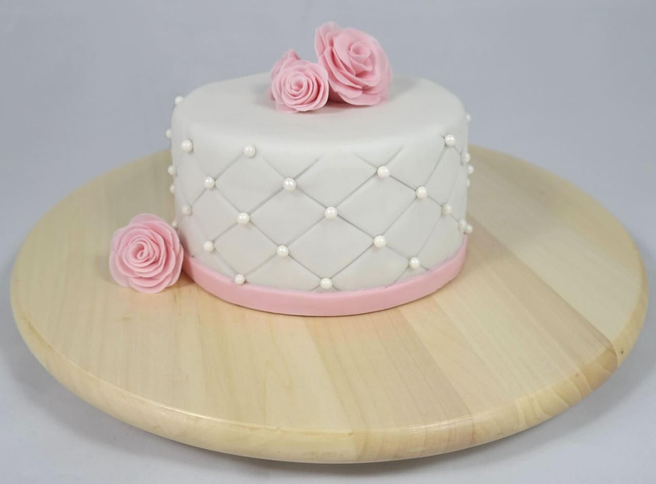 Torte Mit Rosen Tortenkreation Shs 2 Stockige Torte Geburtstagstorte Fondant Torte Geburtstag