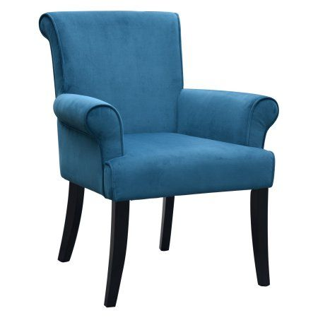 Linon Calla Chair Multiple Colors 19 Inch Seat Height Blue