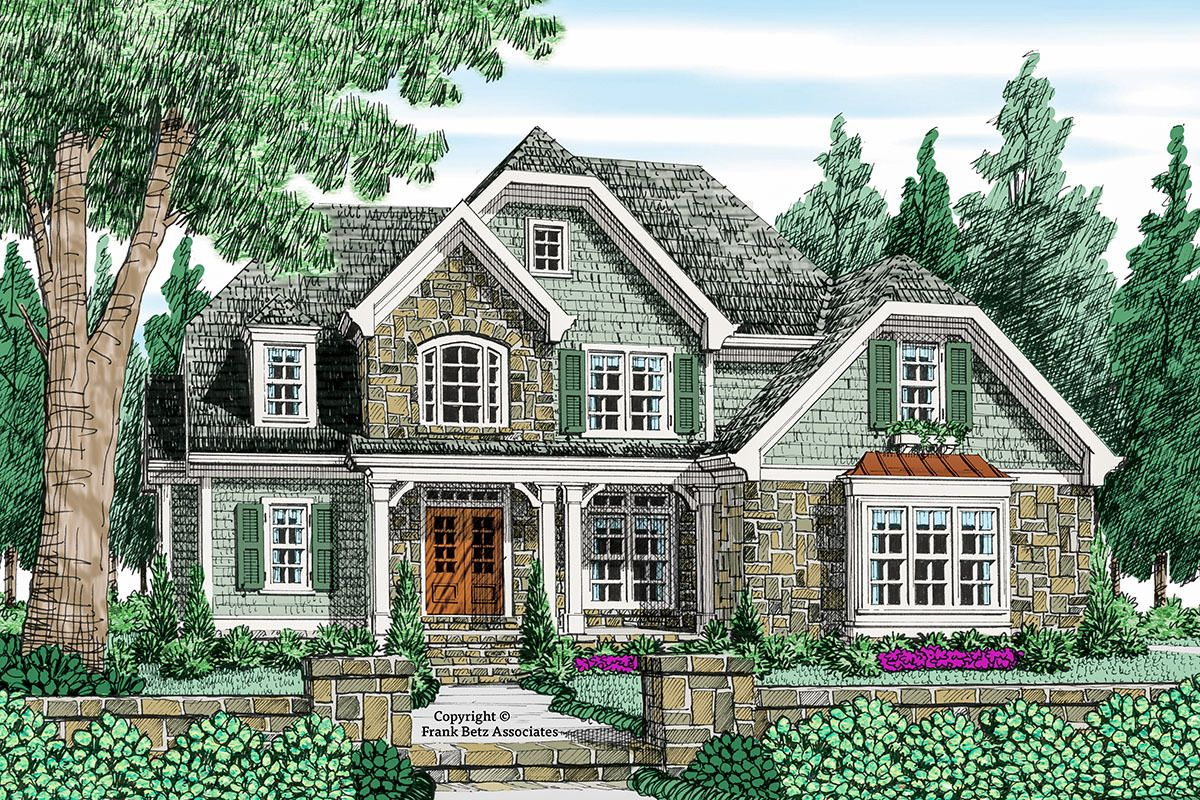 Plan 710092btz 4 Bed House Plan With An Old World Feel English Country House Plans Cottage Style House Plans Cottage House Plans