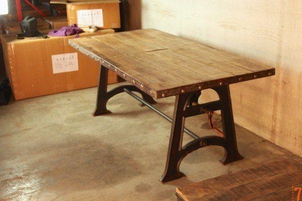 table de salle à manger industrielle extensible | #house