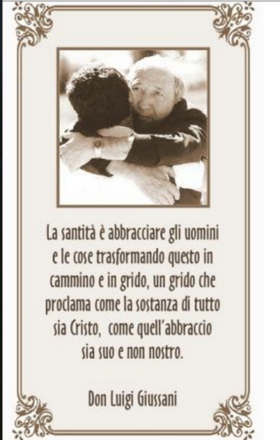 Frasi Matrimonio Don Giussani.Leggoerifletto Matrimonio Citazioni Sulla Vita Preghiera E