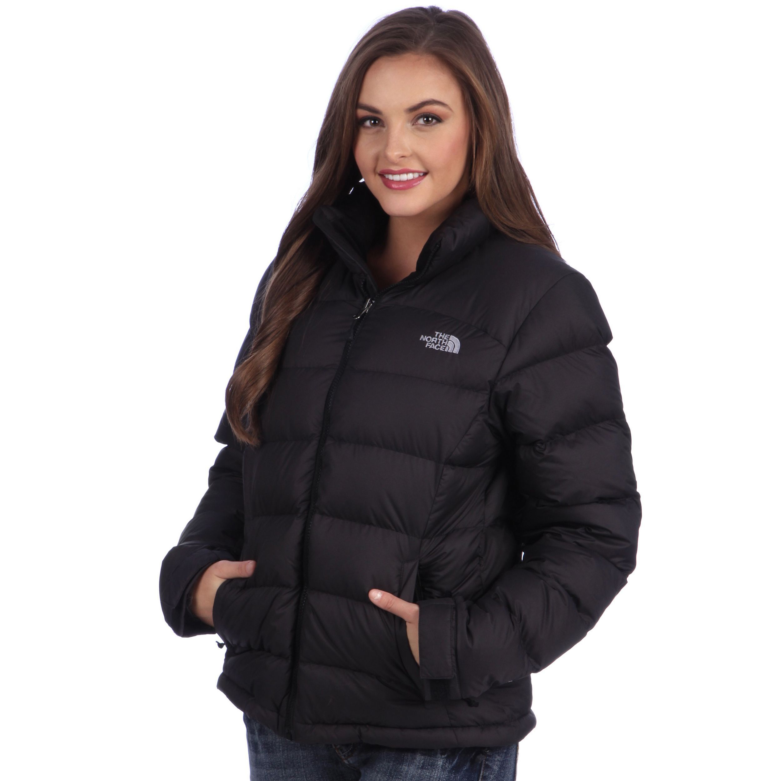 best price north face womens brown down jacket 8d37a f20bd