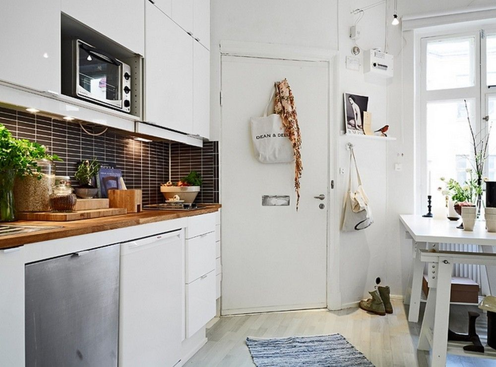 awesome 40 Beautiful Small Yet Airy Scandinavian Kitchen Design https://wartaku.net/2017/04/11/40-beautiful-small-yet-airy-scandinavian-kitchen-design/