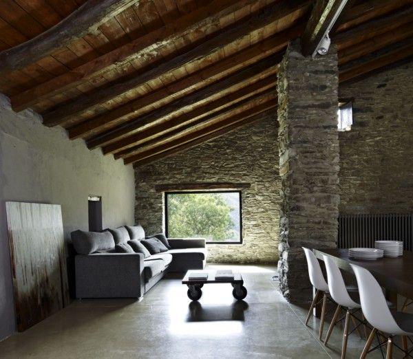 Mas de la riba ferran lopez usa tecnologia para mimetizar arquitectura con el paisaje girona diariodesign home interiorsmodern also rh pinterest