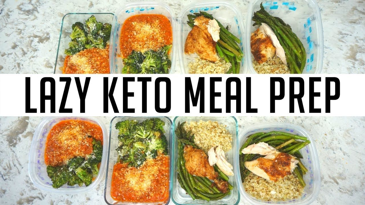 Keto Meal Prep For Lazy People Keila Keto Youtube Keto Meal Prep Keto Recipes Easy Keto Recipes