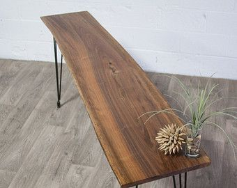 Elegant Reclaimed Black Walnut COFFEE TABLE   Natural/Rustic/Modern