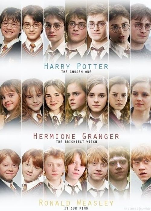 I Loved Seeing Them Grow Up Harry Potter Cast Harry Potter Fan Harry Potter Obsession
