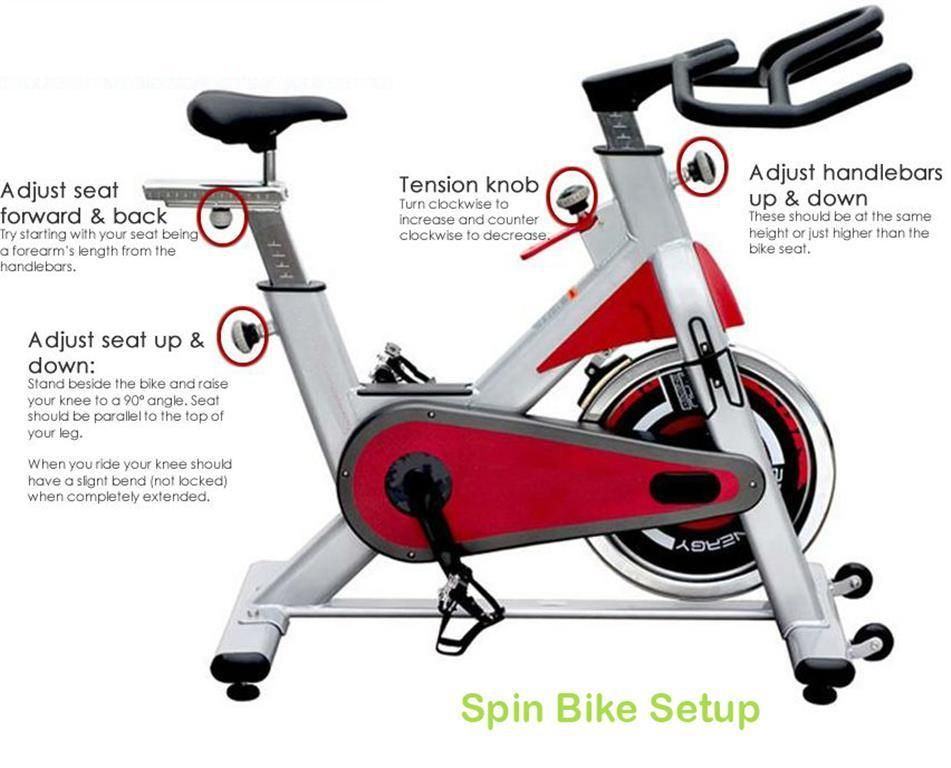 How To Set Up Spin Bike At Home Spin Bikes Biking Workout Spin