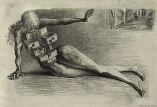 Surrealism Salvador Dali City Of Drawers 1936