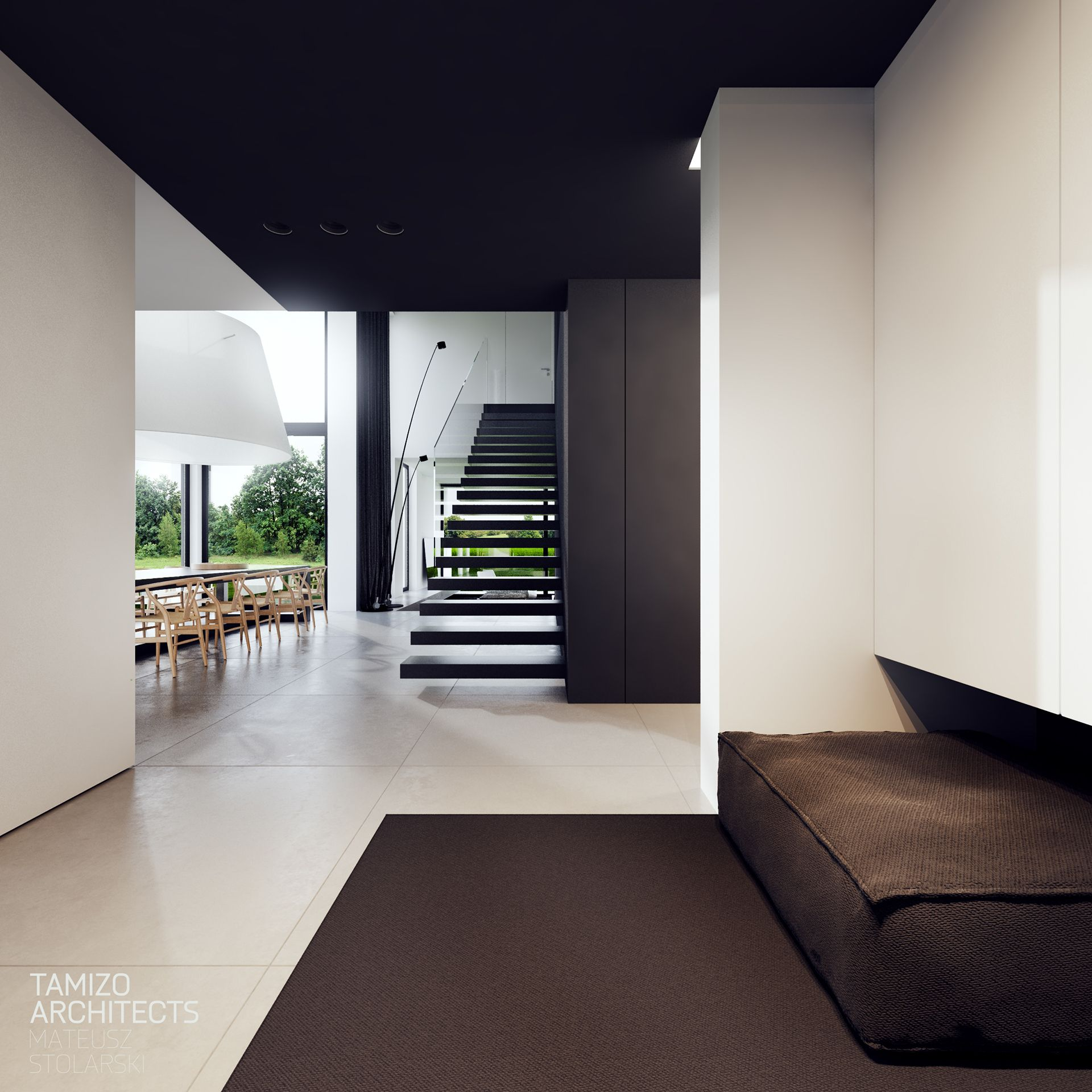 I 066 House Interior Design On Behance Huis Interieur