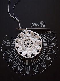 omⒶ KOPPA: Valkoinen kukkaympyräKESÄKASSI