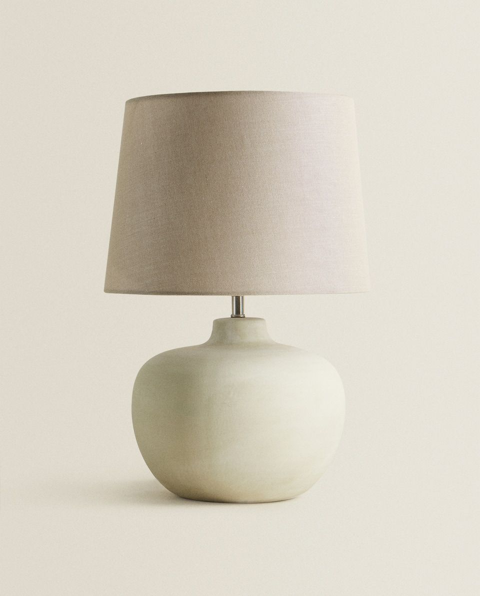 Lamp With Ceramic Base Zara Home Belgium Nel 2020