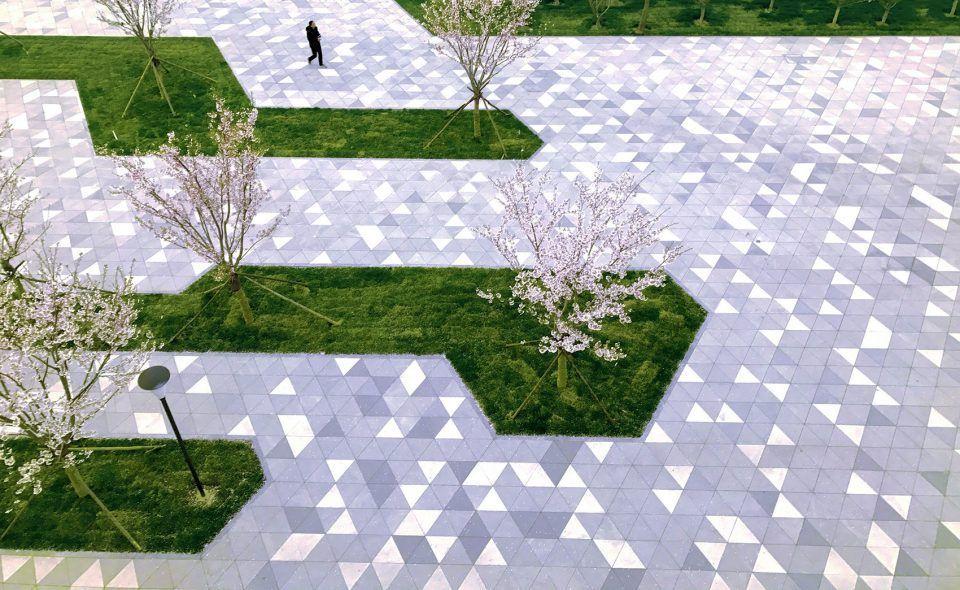 Dong E E Jiao Biotech Park Landscape Design By Sed Landscape Architect 谷德设计网 Landscape Landscape Design Landscape Design Plans Landscape Architecture Design
