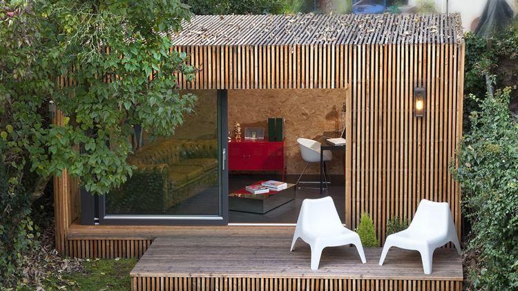 Chalet de jardin habitable – alternatives pour gagner surface | Nice ...