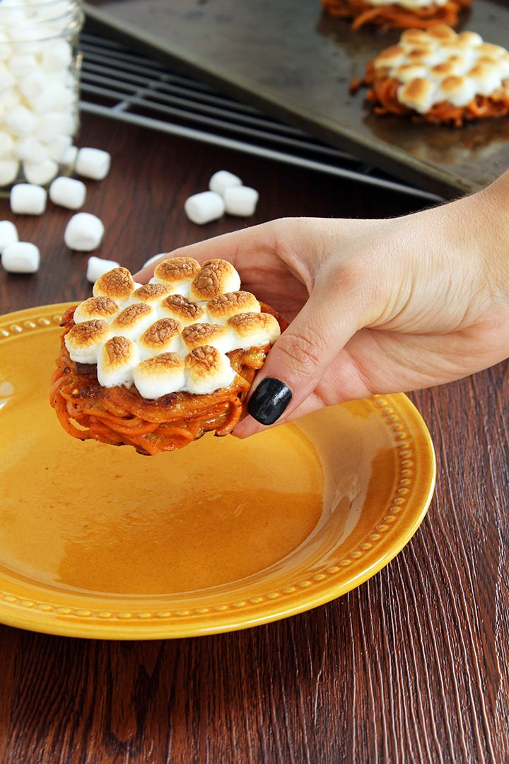 Mini Sweet Potato Casserole Bites - Inspiralized