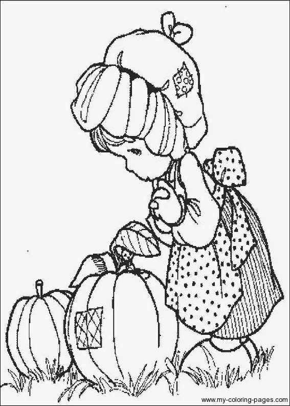 Precious Moments Coloring Pages 008..This Takes Me Back To