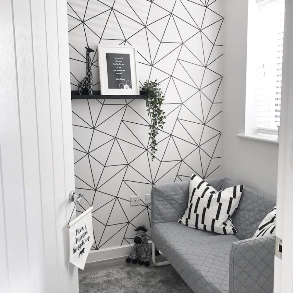 pin di ruang tamu minimalis