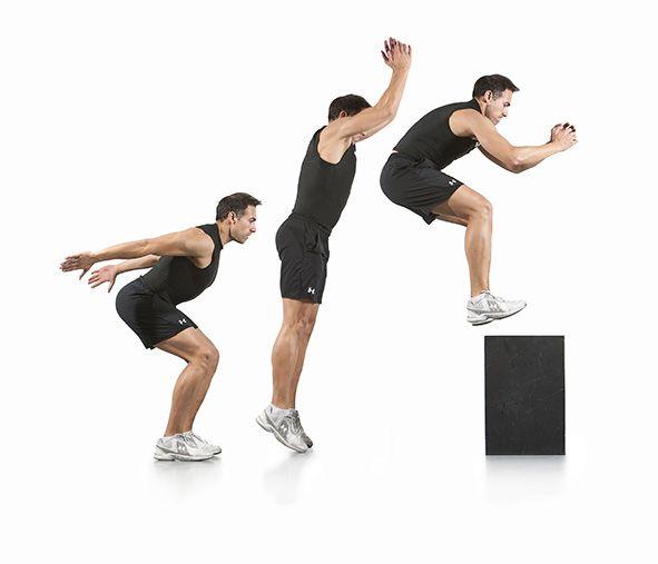Salto al cajón | Ejercicios, Ejercicio para perder peso, Perder ...