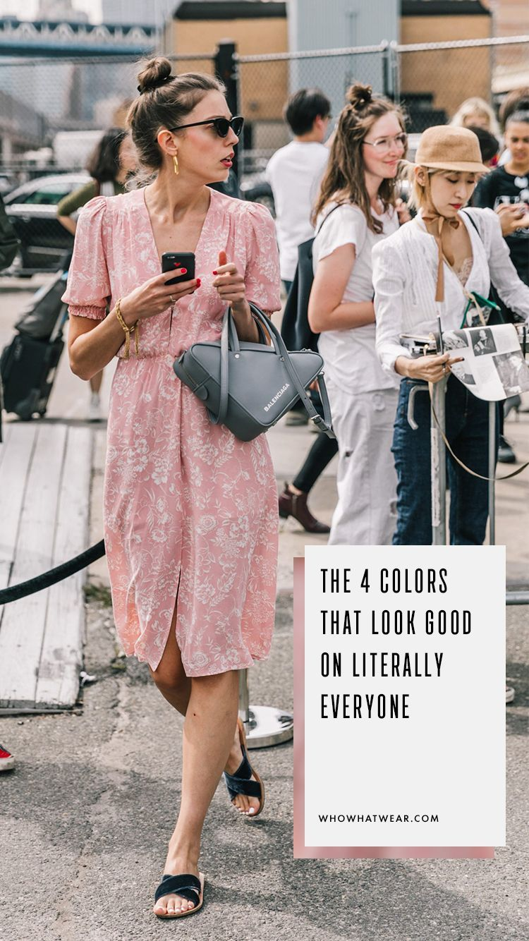 The 4 Colors That Look Good on Literally Everyone | Fashion