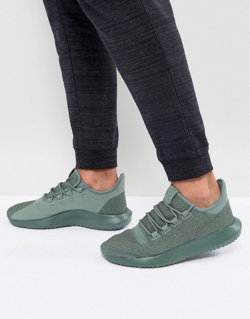new arrival 92b61 fe7d5 ADIDAS ORIGINALS TUBULAR SHADOW SNEAKERS IN GREEN BY3573 - GREEN.  adidasoriginals shoes
