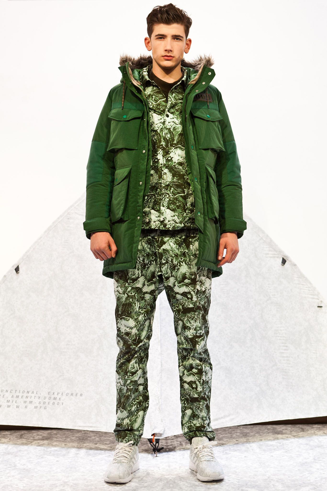 White Mountaineering - Fall 2015 Menswear