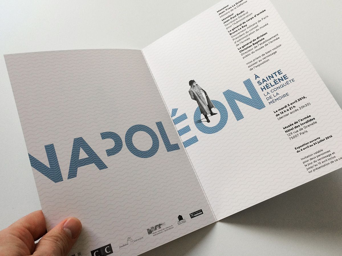 Esquisses Pour La Signaletique Et Le Graphisme D Exposition Pour Napoleon A Sainte Helene Au Musee Branding Design Inspiration Design Graphique Grafik Design