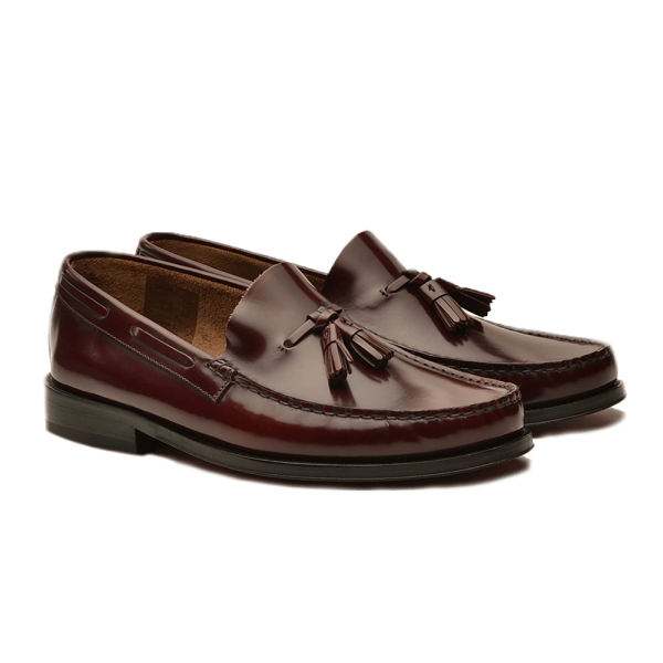 b15f40be333b94 Moccasins - information, fashion and shopping tips for moccasins Burgundy  Leather Moccasins - Gagliardi