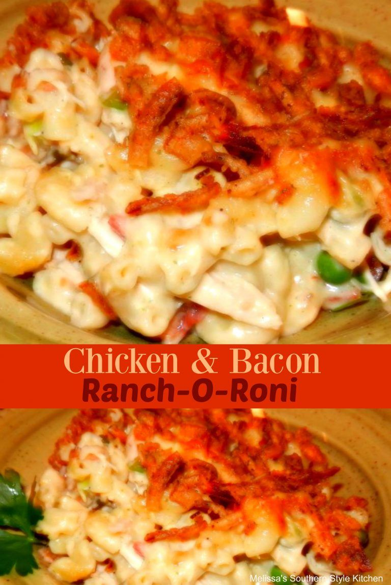 Chicken And Bacon Ranch O Roni Chicken Bacon Bacon Ranch Recipes