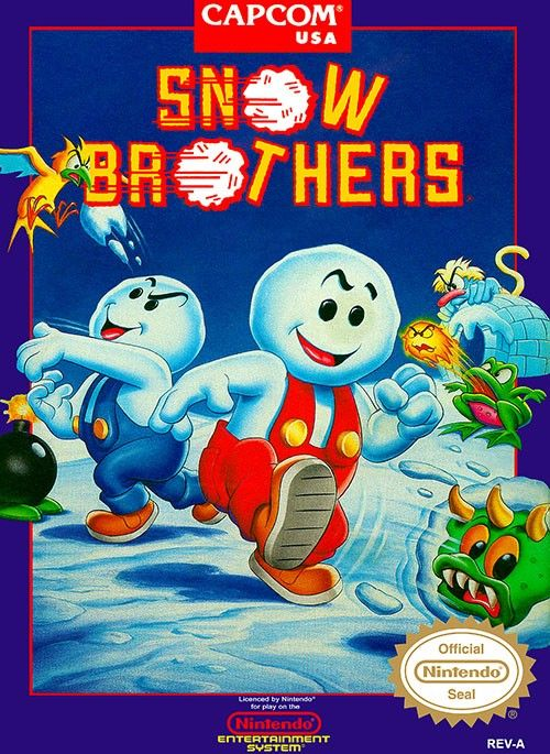 Play Snow Bros Nintendo Nes Online ツ Unblocked Nes