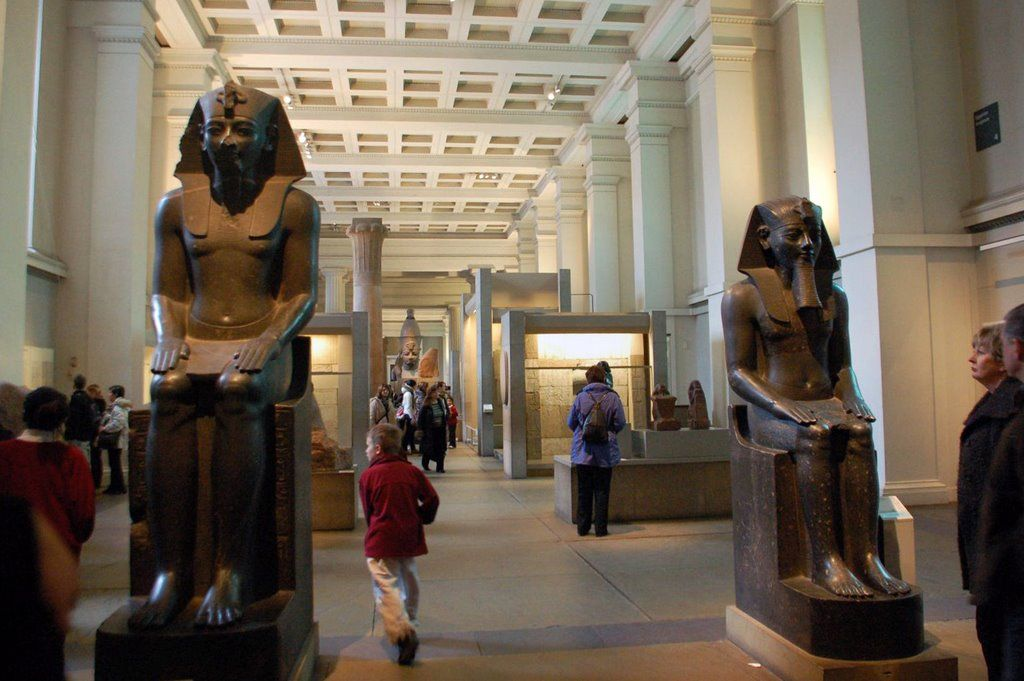 Image result for british museum inside