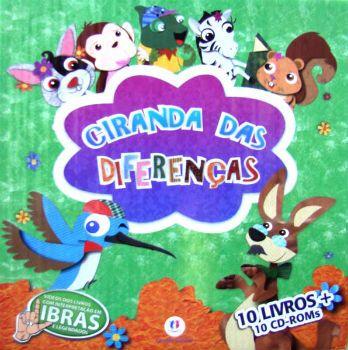 Coleção CIRANDA DAS DIFERENÇAS Verde - ISBN 9788538018315 com as melhores condições você encontra na Livraria SóLivros www.solivros.com.br - Confira!