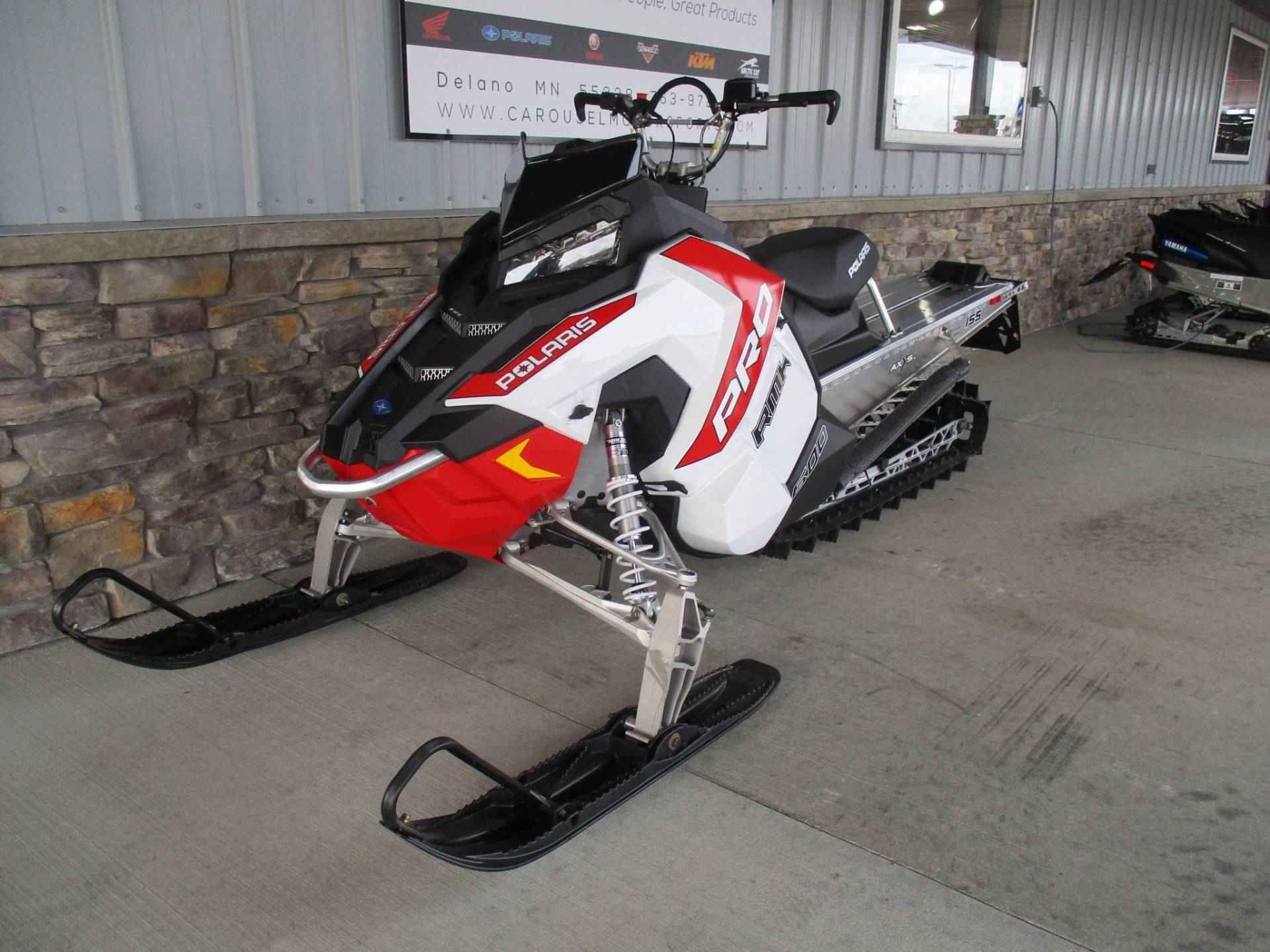 New 2016 Polaris 600 PRORMK 155 ES Snowmobile For Sale in