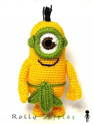 Cattivissimo me minion au naturel amigurumi diy toys crochet minion bare naked minion au naturel amigurumi free pattern diagram free ccuart Choice Image
