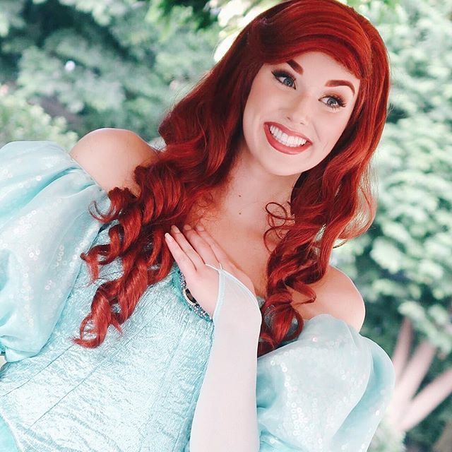 Ariel from The Little Mermaid #HKDL #disneyfacecharacter # ...