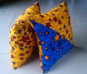 Ankara Throw Pillows