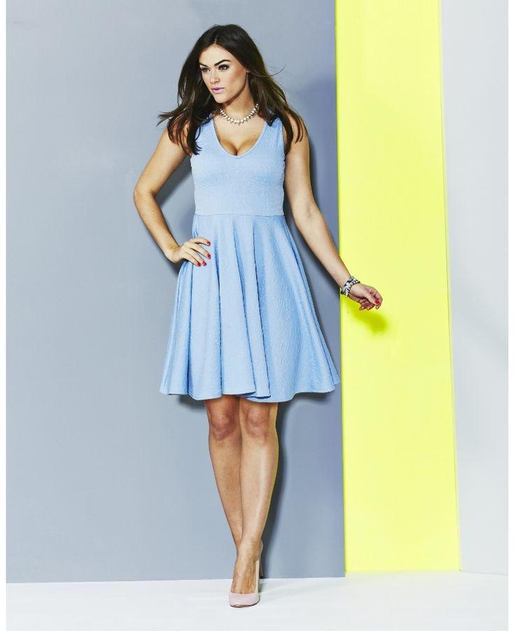 Pale blue dress size 8 knitting | My best dresses | Pinterest ...