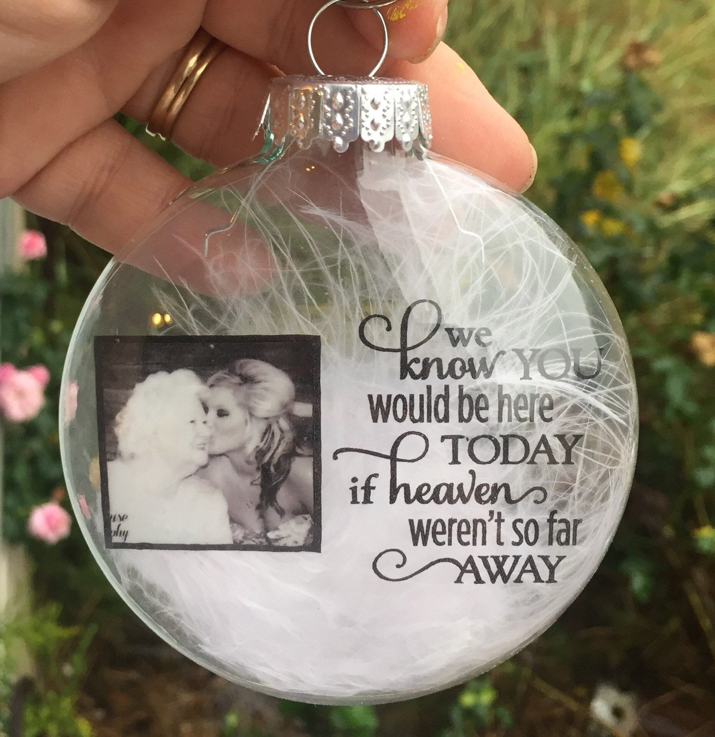 In Memory Ornament Personalized Christmas Ornament Etsy Christmas Ornaments Personalized Christmas Diy Christmas Ornaments