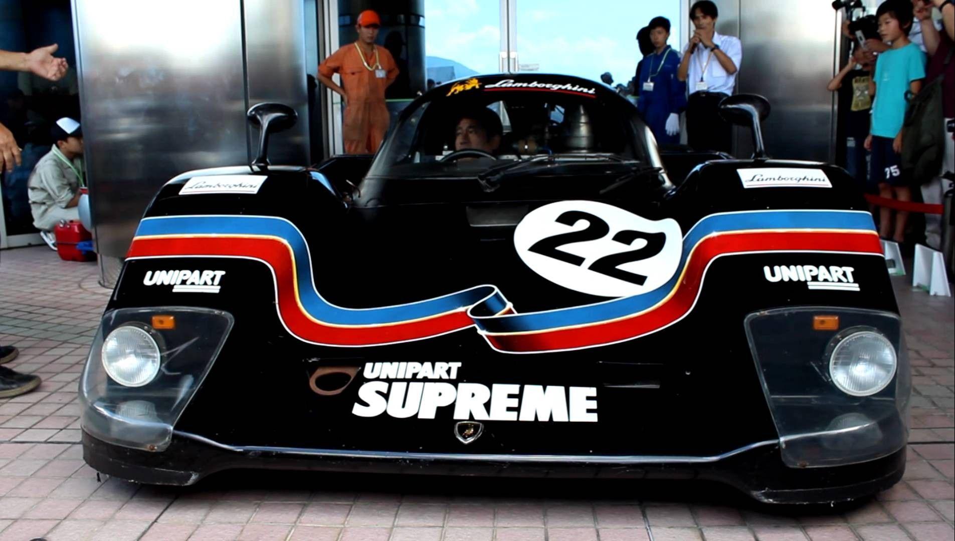 Amazing Enginesound By Countach Qvx Lamborghini Racing