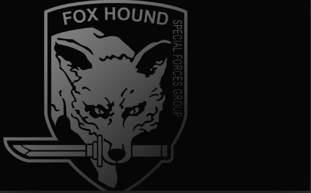 Foxhound Logo The Fox And The Hound Metal Gear Cartoon Wallpaper Hd