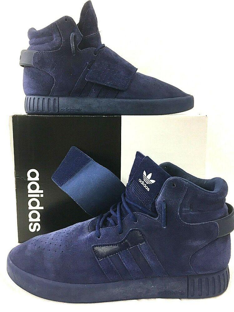 e0d20facc48a ADIDAS Originals Tubular Invader Strap Mens Navy Size 11 Sneaker ...