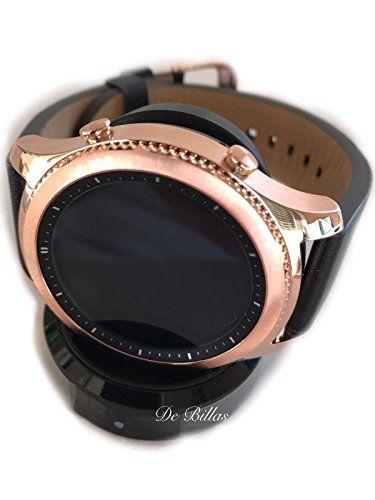 24k Rose Gold Samsung S3 Gear Classic Smartwatch Original Samsung