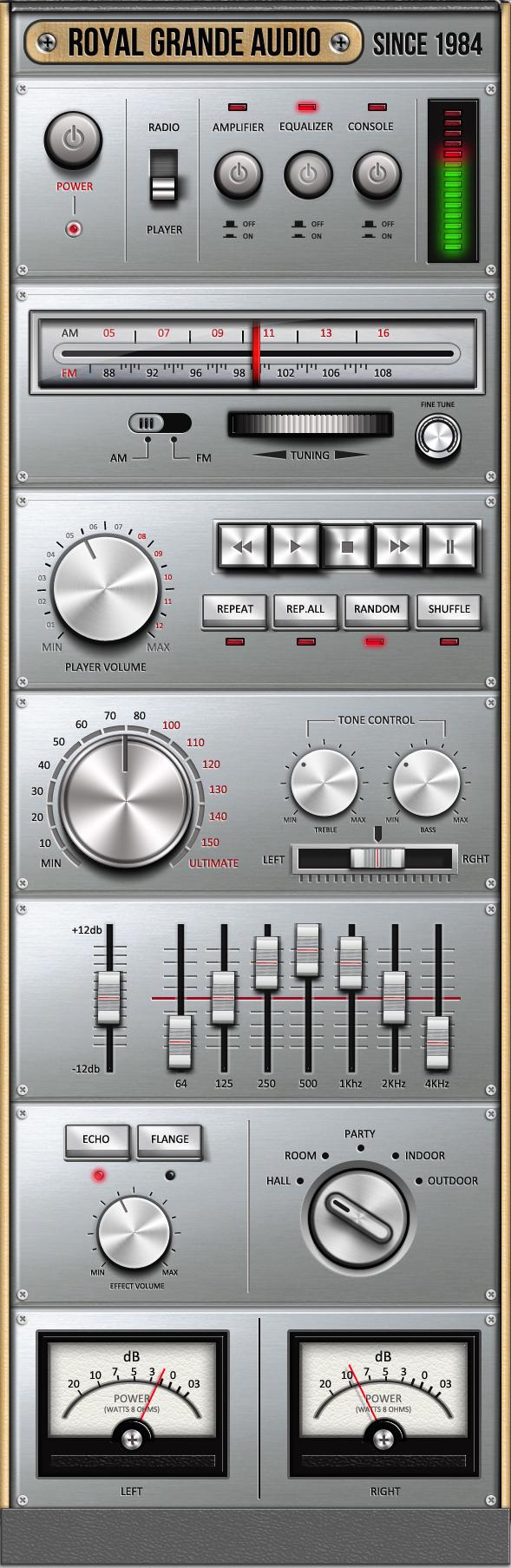 Very OLD Audio Set UI