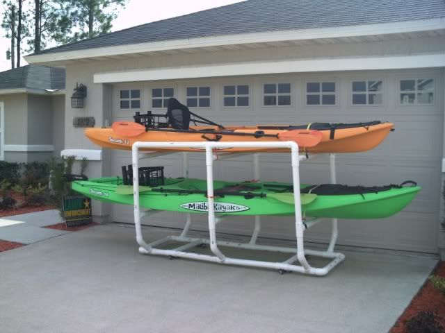 Diy Pvc Kayak Rack General