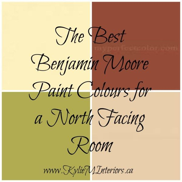 The Best Benjamin Moore Paint Colours For A North Facing