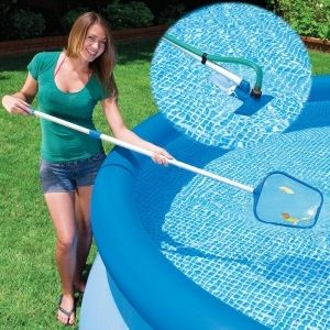 How To Use A Pool Vacuum To Vacuum Above Ground And In Ground Pool Pool University Pool Vacuum In Ground Pools Swimming Pool Maintenance